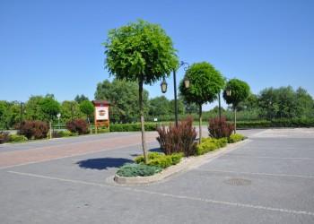 ogród, restauracja